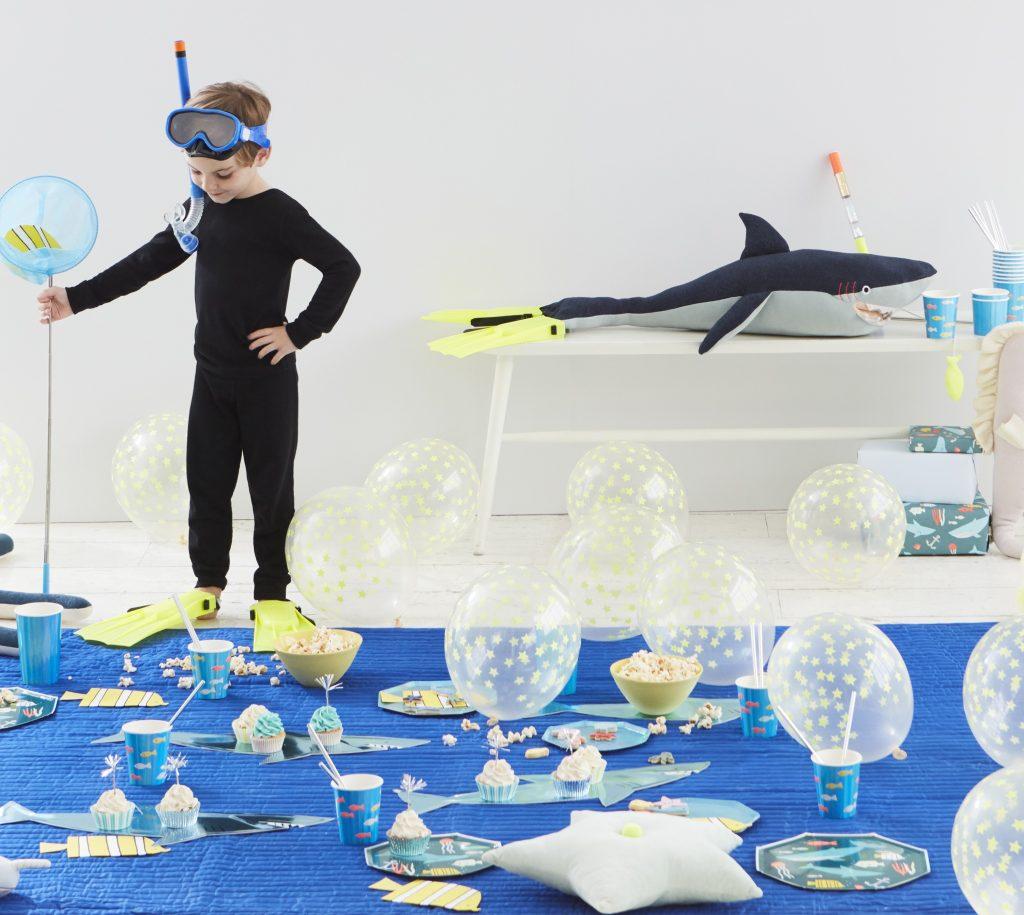 Χάρτινα Πιάτα Meri Meri Under The Sea 20εκ – 8 Τεμάχια