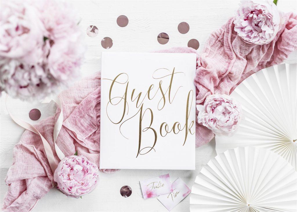Ευχολόγιο – Βιβλίο Ευχών Γάμου Guest Book Χρυσό