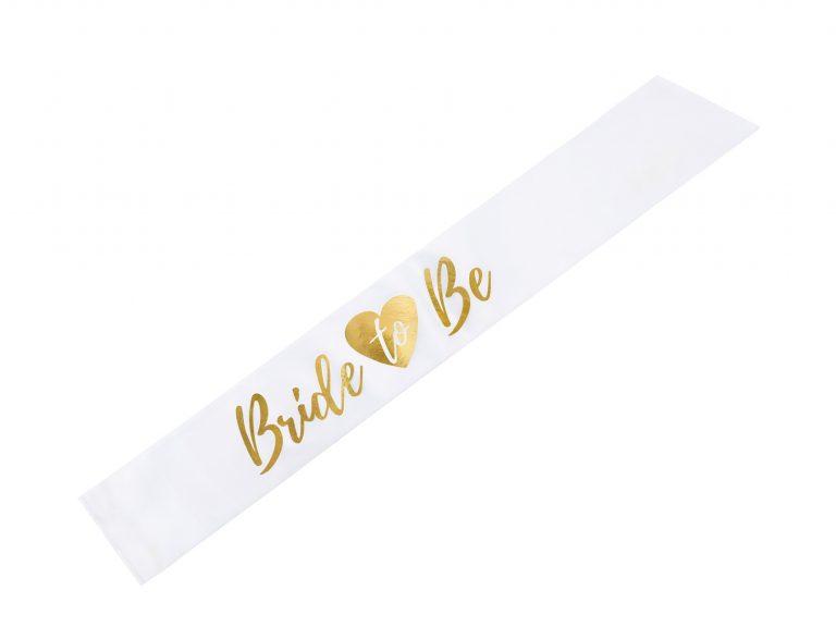 Κορδέλα Σατέν Bride To Be Χρυσό