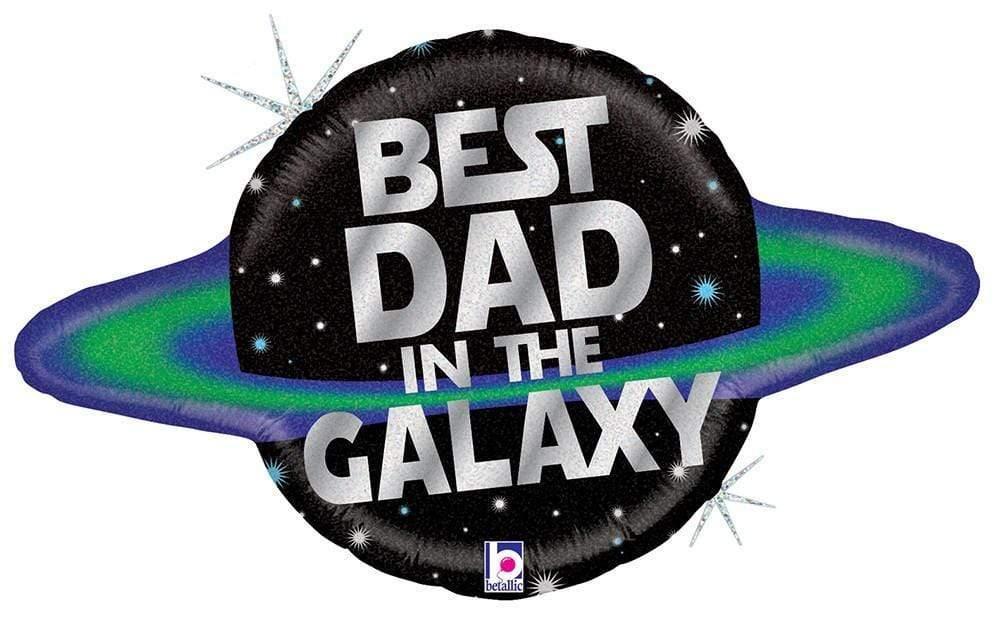 Μπαλόνι Foil BEST DAD IN THE GALAXY 78εκ