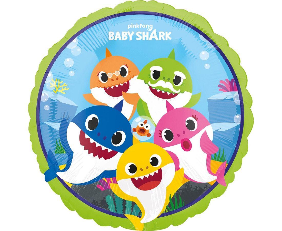 Μπαλόνι Foil Baby Shark 43εκ