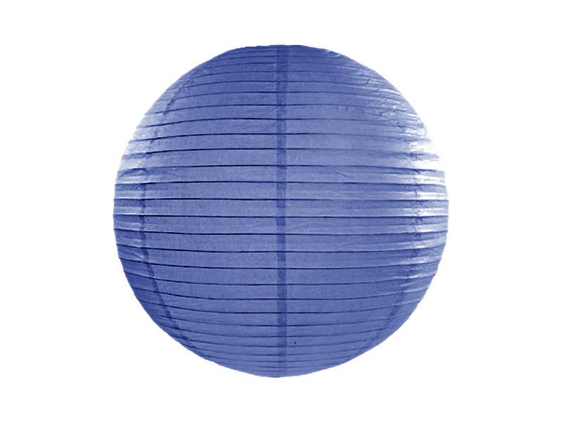 Χάρτινο Διακοσμητικό Φαναράκι Μπλε 35εκ