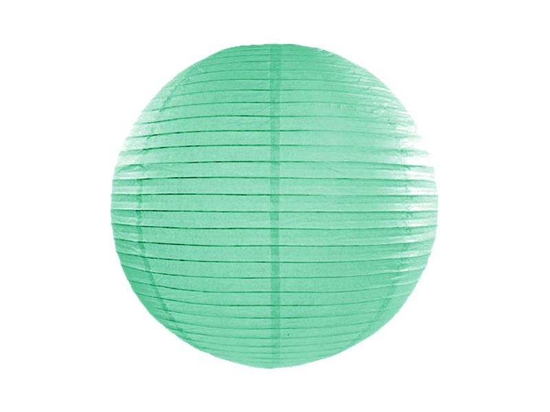 Χάρτινο Διακοσμητικό Φαναράκι Mint 35εκ