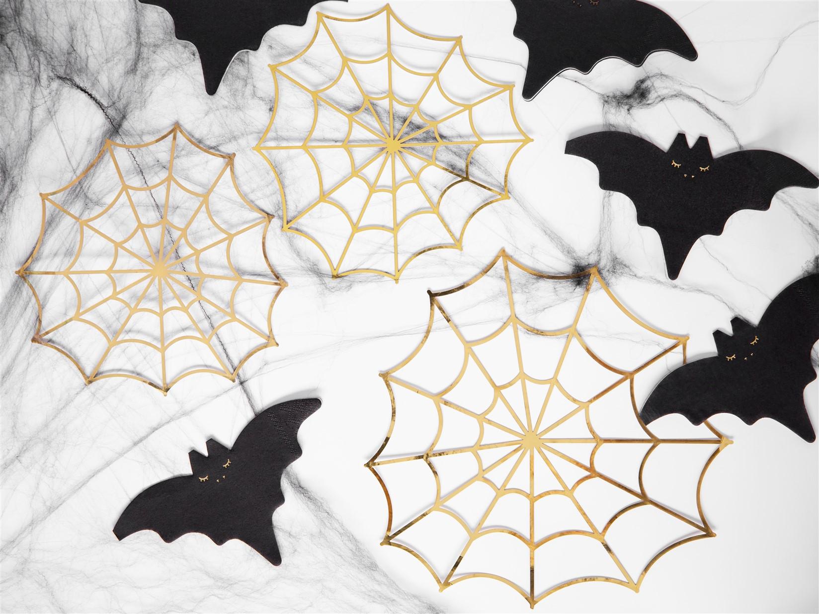 Χάρτινοι Διακοσμητικοί Ιστοί Αράχνης – 3 Τεμάχια