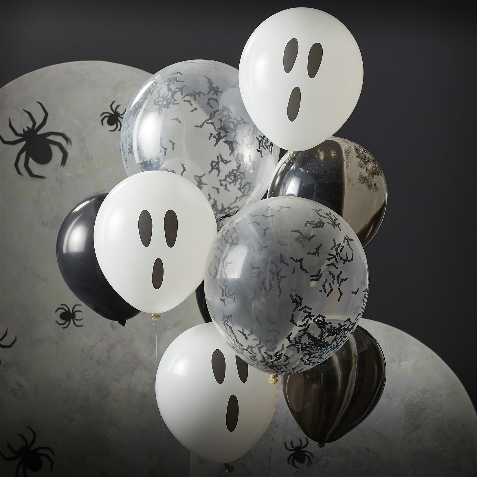 Σετ Μπαλόνια Latex Halloween – 9 Τεμάχια