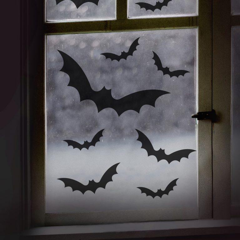 Αυτοκόλλητα για Τζάμι Νυχτερίδες – 11 Τεμάχια