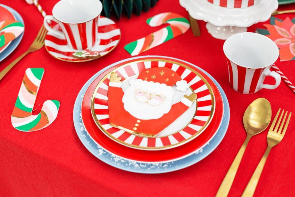 Χαρτοπετσέτες Άγιος Βασίλης – 20 Τεμάχια