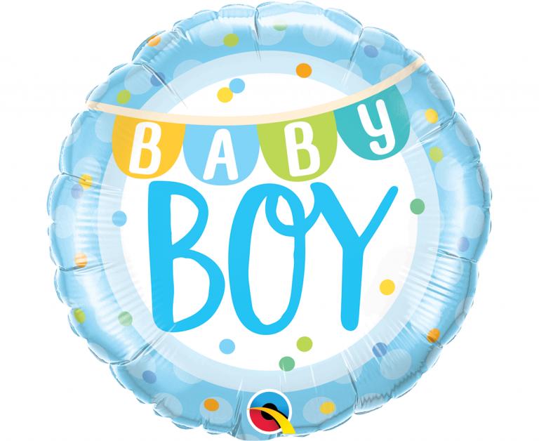 Μπαλόνι Foil Βaby Boy 45εκ